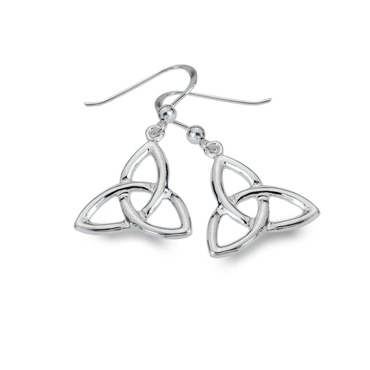 Classic trinity knot earrings