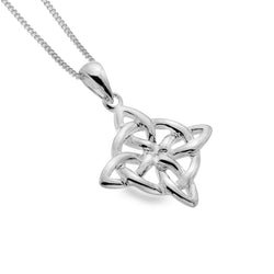 Celtic loop knot pendant