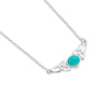 Turquoise celtic heritage necklace