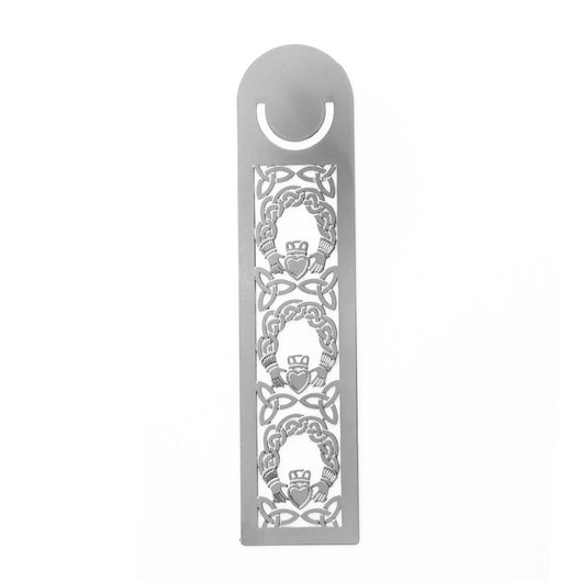 Bookmarks - Celtic Claddagh And Trinity Knots Long Bookmark