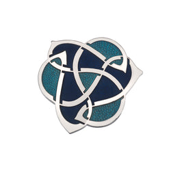 Brooches - Archibold Knox Style Blue Brooch