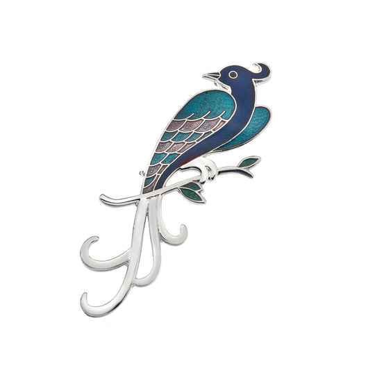 Brooches - Blue Bird Of Paradise Brooch
