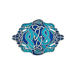 Brooches - Blue Dragons Brooch