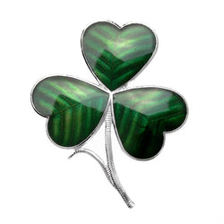 Brooches - Irish Shamrock Brooch