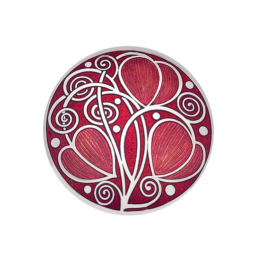 Brooches - Mackintosh Leaves And Coils Brooch