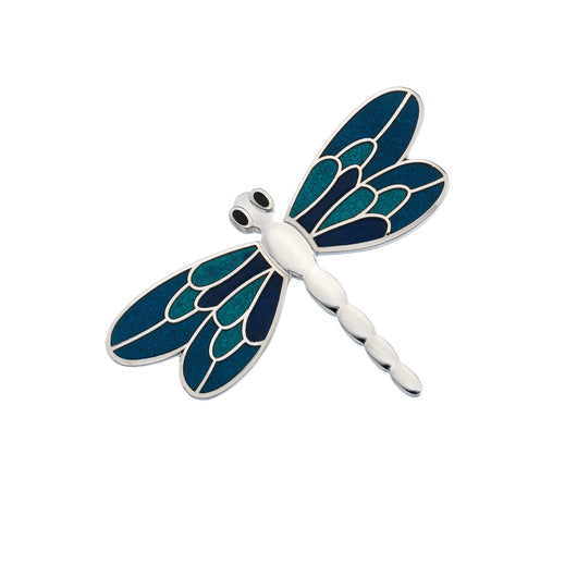 Brooches - Turquoise Dragonfly Brooch