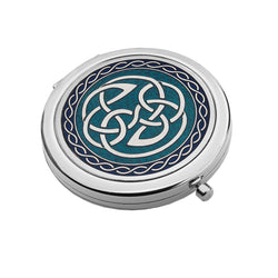 Compact Mirrors - Celtic Pointed Knot Compact Mirror