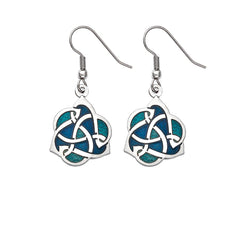 Earrings - Archibold Knox Style Blue Earrings