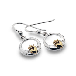 Earrings - Claddagh Love Earrings