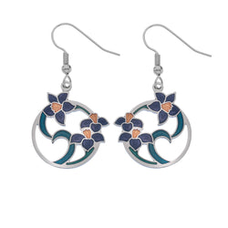 Earrings - Flowers And Leaves Earrings
