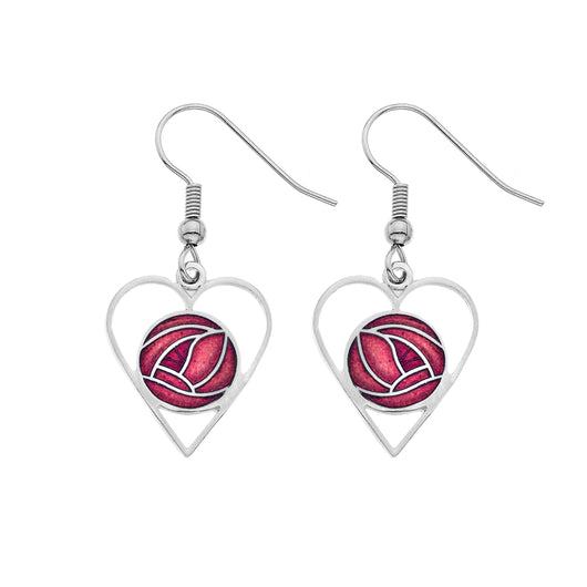 Earrings - Mackintosh Love Rose Earrings