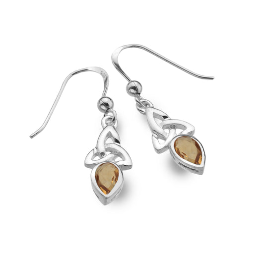 Earrings - November - Citrine - Birthstone Earrings