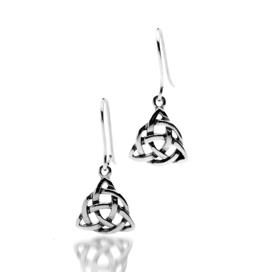 Earrings - Sterling Silver Knotwork Earrings