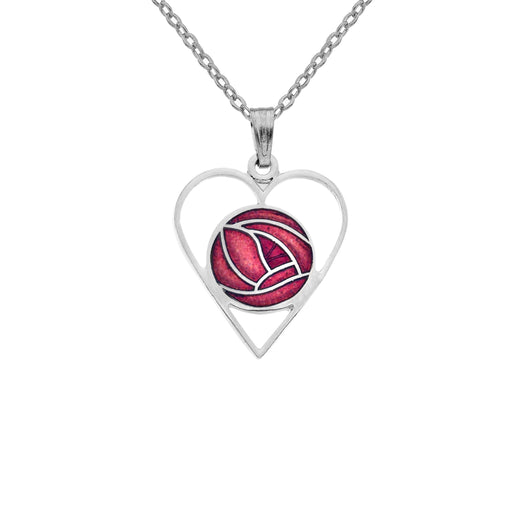 Necklaces - Mackintosh Love Rose Necklace