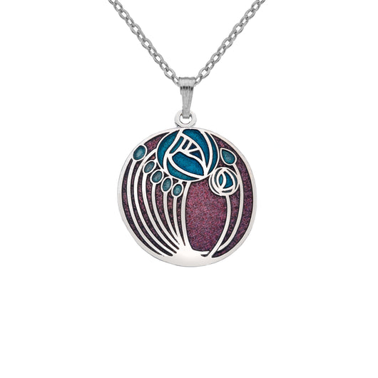 Necklaces - Mackintosh Roses And Buds Necklace