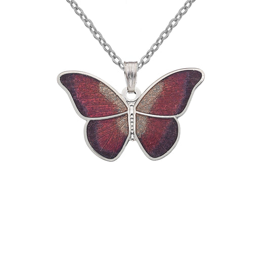 Necklaces - Red Butterfly Necklace