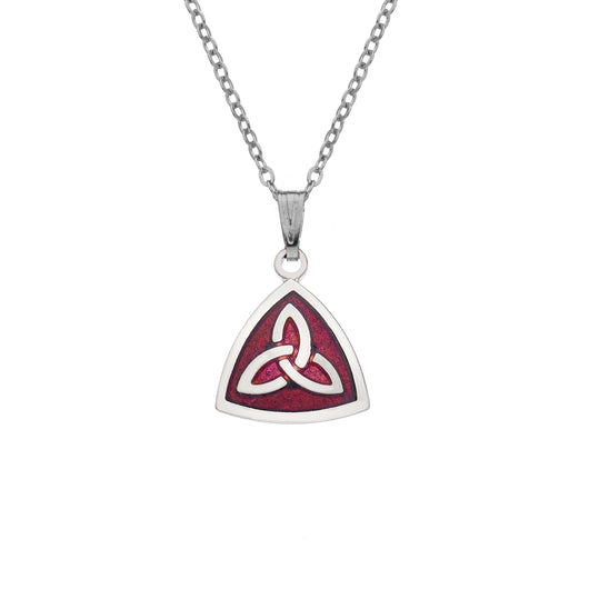 Necklaces - Triangular Trinity Knot Necklace