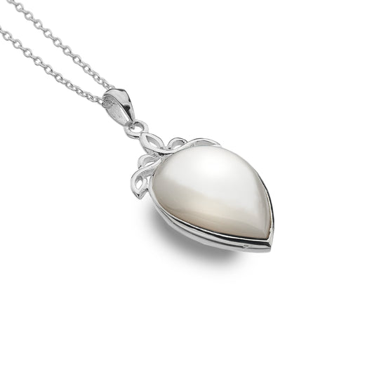 Pendants - Mother Of Pearl Celtic Drop Pendant
