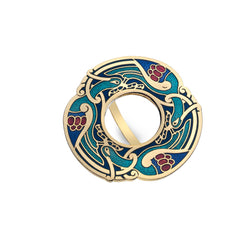 Scarf Rings - Celtic Bird Scarf Ring