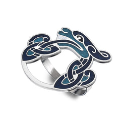 Scarf Rings - Celtic Dragon Scarf Ring