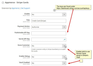 Stripe for Magento 2.x (Checkout & Saved Cards) Stripe Appmerce