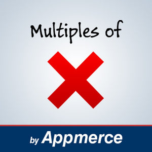 Multiples Of X (Batch Qty) for Magento 2.x Appmerce Appmerce