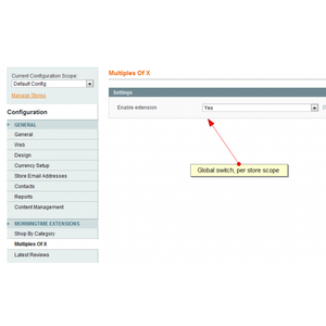 Multiples Of X (Batch Qty) for Magento 1.x - Appmerce