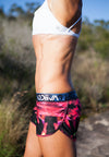 GODIIVA PRO RUNNING SHORTS - FIRE NIGHTS