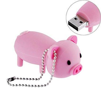 Cute Pig Flash Drive - E-Xclusif