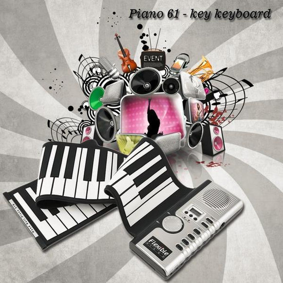 Piano électronique portable PianoRoll ™ - E-Xclusif