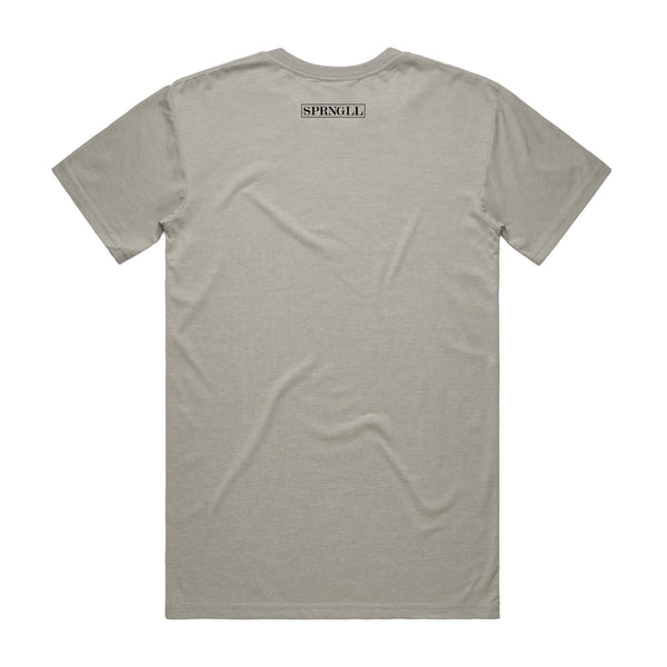 Melbourne Squared Tee Light Grey
