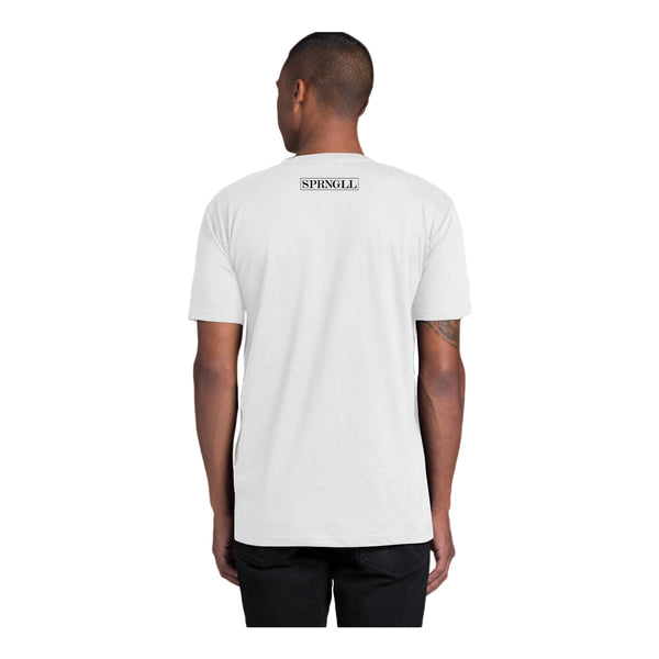 Melbourne Squared Tee White