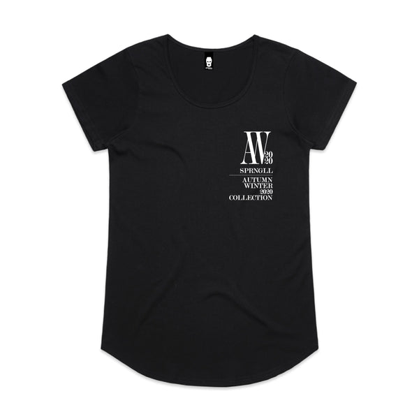 Chest AW Logo Womens Tee