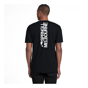 Bold Map Black Tee