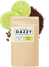 Dazzy Coffee Scrub 200g - Citrus