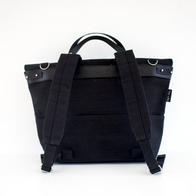 Polygon Sample - Black | Handbag, backpack