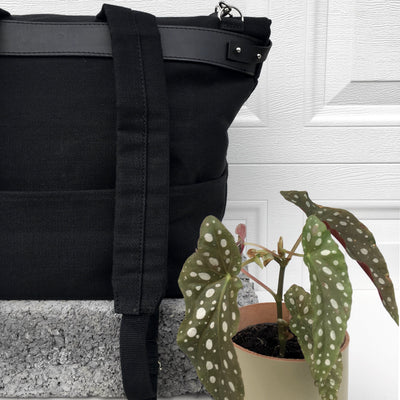 Polygon bag - Black | Handbag, backpack