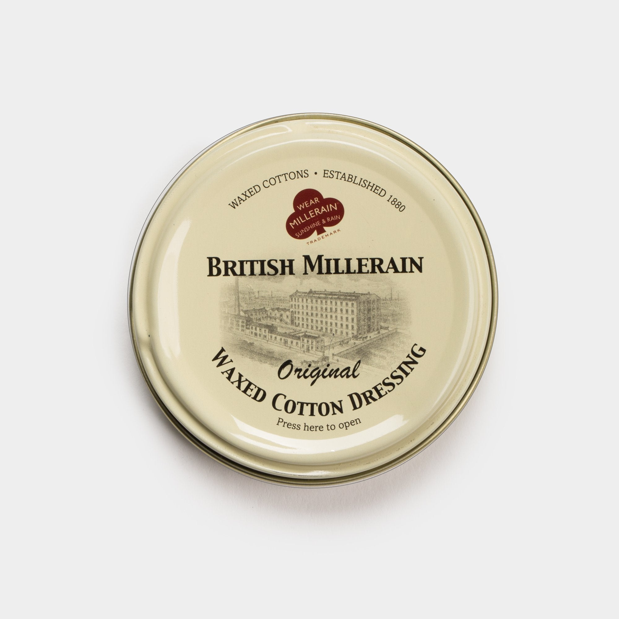 British Millerain Wax Dressing - Vel-Oh