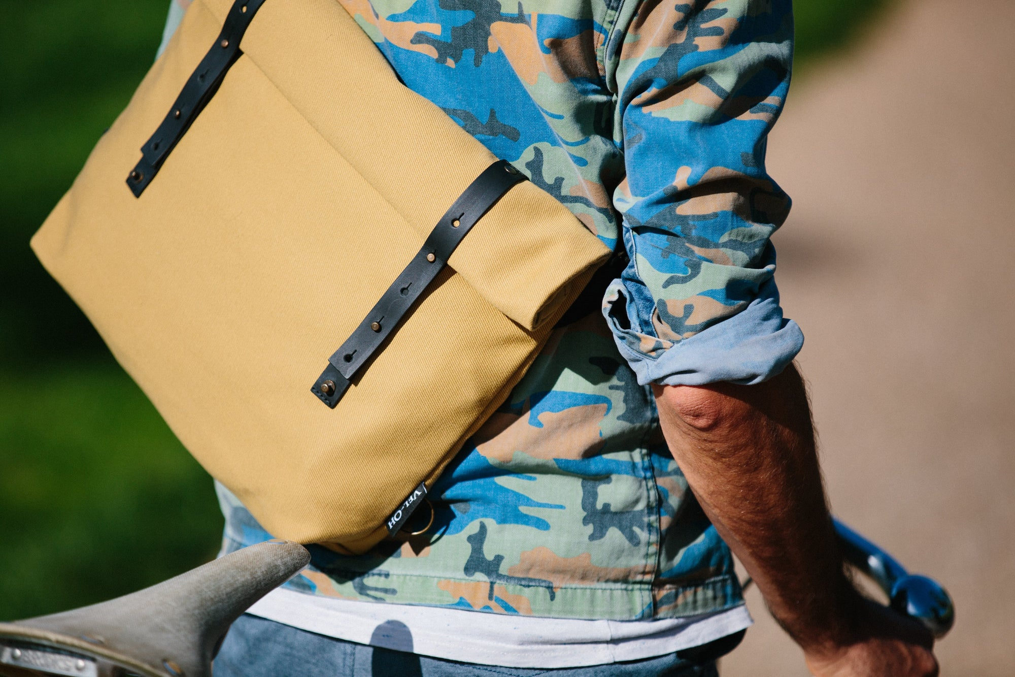 Day Bag - Mustard | Shoulder bag, messenger bag - Vel-Oh