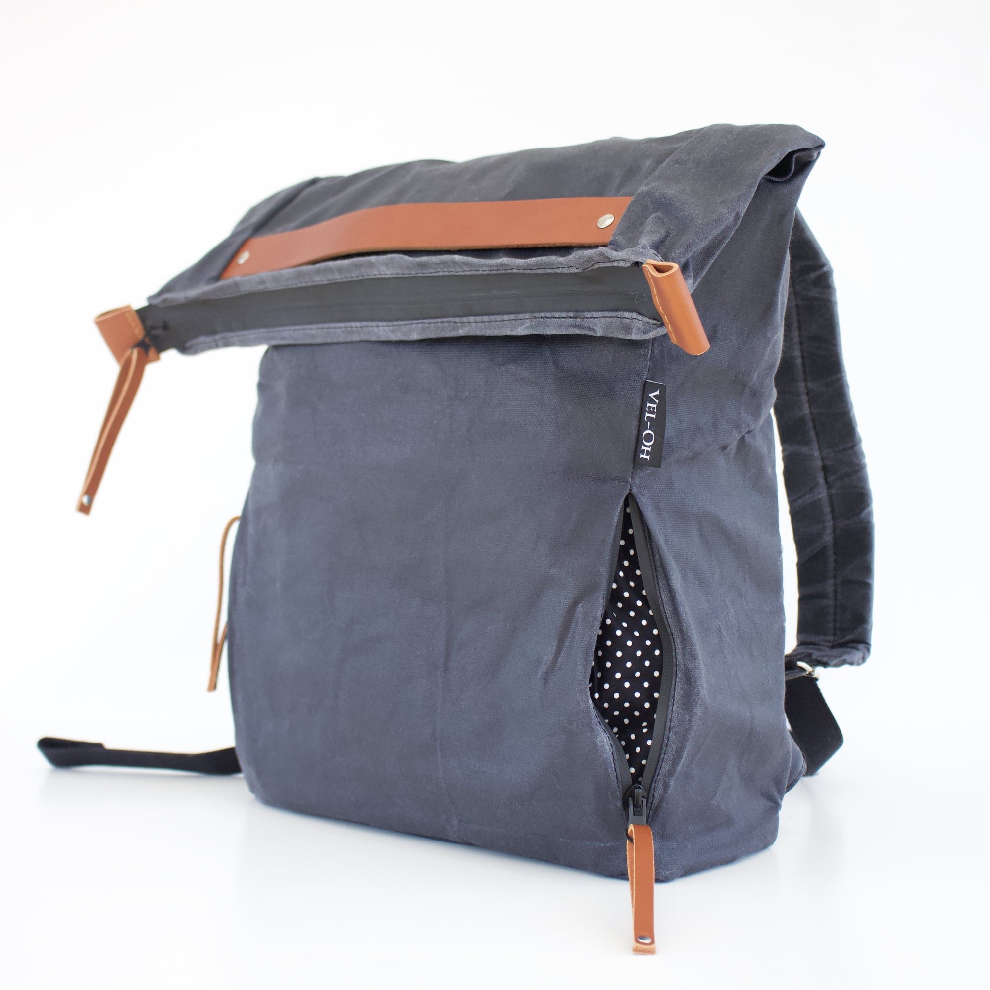 Greypack | Flop top backpack - Vel-Oh