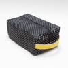 Obsessed Wash Bag - Polka Dot | Yellow leather - Vel-Oh