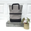 Umi Bag - Grey | Tote, shoulder bag, backpack - Vel-Oh