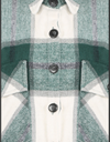 Stella Green Brushed Cotton Check Shirt