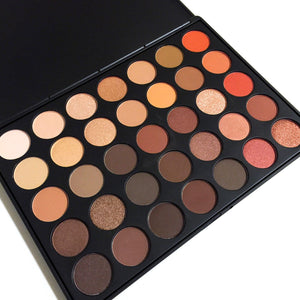 Lick and Lash Beauty 35 Colour 350 Warm Palette