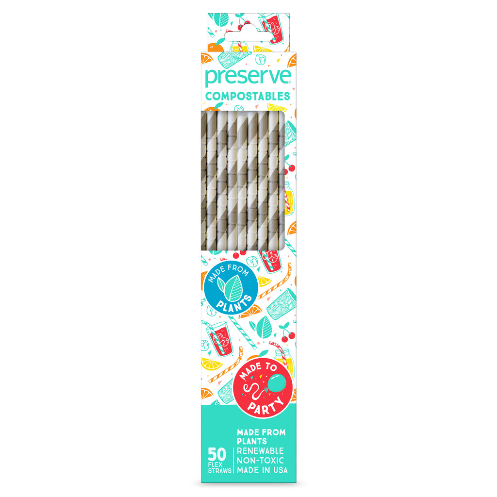 Compostable Straws | 50 Count