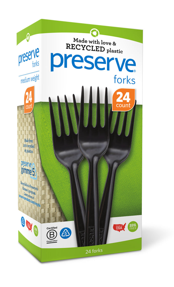 Medium Weight Cutlery | Forks Only | 24 count