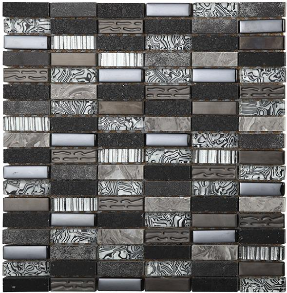 Safari Zebra Mosaic - Discount Tile And Stone Warehouse