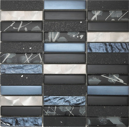 Artist Black Mosaic - Discount Tile And Stone Warehouse