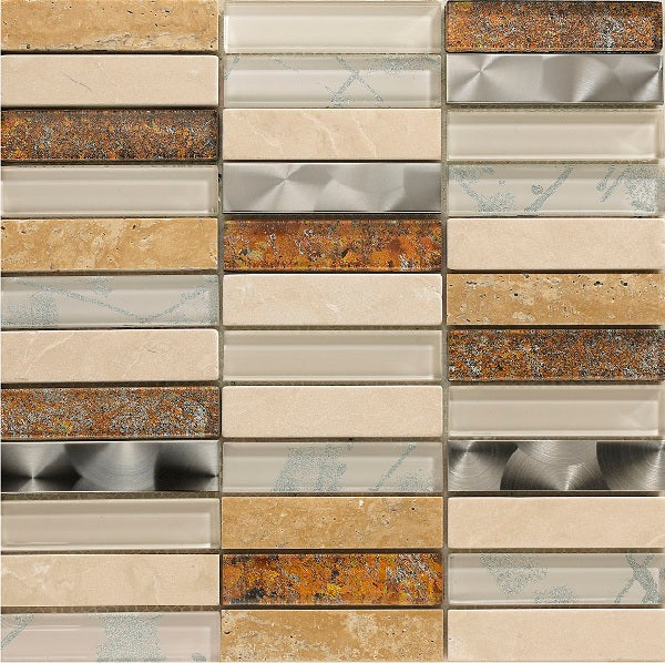 Artist Cream Mosaic - Discount Tile And Stone Warehouse