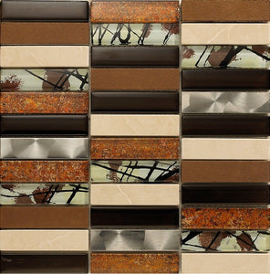 Artist Brown Mosaic - Discount Tile And Stone Warehouse